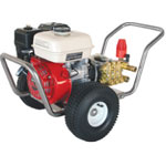 3GPM 2500PSI Stainless Steel Pressure Washer